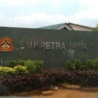 Photo taken at SMK Petra Jaya by Zahrain M. on 9/15/2012