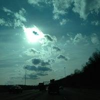 Photo taken at Missouri/Kansas Border by Spencer B. on 1/28/2013