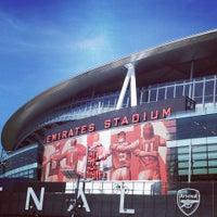 Photo taken at Emirates Stadium by Boryana B. on 5/27/2013