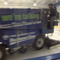 Photo taken at Clearwater Ice Arena by Kirsten G. on 3/9/2013