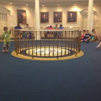 Photo taken at The Hall Of Presidents by Michael E. on 5/27/2013
