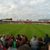 Photo taken at Showgrounds by Trevor C. on 10/13/2012