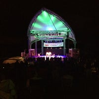 Photo taken at The Levitt Pavilion by Jane S. on 8/24/2014