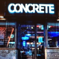 Photo taken at Concrete by Jackie M. on 1/18/2013