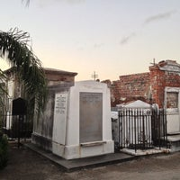 Photo taken at St. Louis Cemetery No. 1 by Donald on 10/24/2012