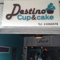 Photo taken at Destino Cupcakery by Euler on 7/25/2013