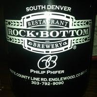 Photo taken at Rock Bottom Restaurant & Brewery by Vegas C. on 1/25/2013