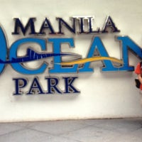 Photo taken at Manila Ocean Park by Marie Diane 🎀 on 5/11/2013