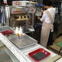 Photo taken at アイスクリームの店 美ふじ by n.waka on 8/1/2013