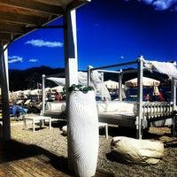 Photo taken at Santa BeachClub by Luca I. on 8/20/2013
