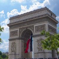 Photo taken at Arc de Triomphe by MikaelDorian on 7/15/2014