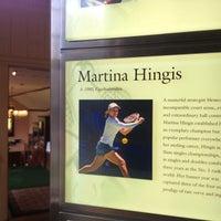 Photo taken at International Tennis Hall of Fame by ayeen c. on 8/31/2014