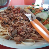 Photo taken at Food & Salads by Rosalba R. on 6/25/2014