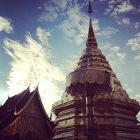 Photo taken at Wat Phrathat Doi Suthep by Chunny V. on 3/7/2013