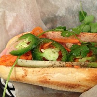 Photo taken at Banh Mi & Co by Matt M. on 12/31/2012