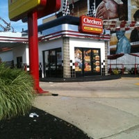 Photo taken at Checkers by Sparkaline K. on 8/17/2013
