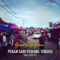 Photo taken at Pekan Sari Padang Tengku by Fairus Z. on 2/10/2013