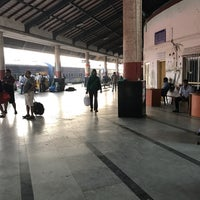 Photo taken at Margao Railway Station by Rajat G. on 2/8/2017