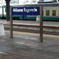 Photo taken at Milano Rogoredo Railway Station (IMR) by Sylvain D. on 3/30/2013
