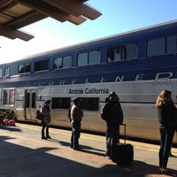 Photo taken at Oceanside Transit Center by Evangelia A. on 1/13/2013