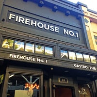 Photo taken at Firehouse No. 1 Gastropub by Shan M. on 8/3/2013
