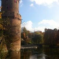 Photo taken at Kronenburgerpark by Rene T. on 11/11/2012