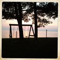 Photo taken at Sylvan Beach NY by Ryan Y. on 6/24/2013