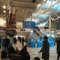 Photo taken at Terminal 4 by Linus J. on 10/16/2012