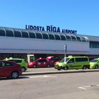 Photo taken at Riga International Airport (RIX) by Jekaterina A. on 7/7/2013
