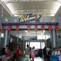 Photo taken at McCarran International Airport (LAS) by Robert D. on 7/18/2013