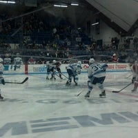 Photo taken at Alfond Arena by Sarah E. on 3/2/2013