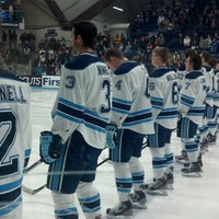 Photo taken at Alfond Arena by Sarah E. on 2/16/2013