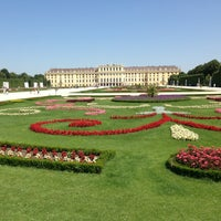 Photo taken at Schonbrunn Palace by Alex S. on 7/9/2013