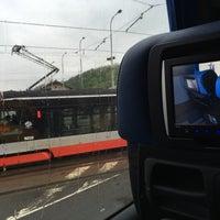 Photo taken at RegioJet Praha - Český Krumlov by Alex S. on 5/4/2016