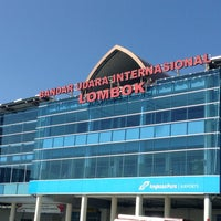 Photo taken at Lombok International Airport (LOP) by Felicia L. on 3/18/2013