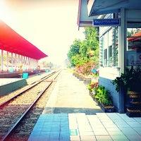 Photo taken at Stasiun Jombang by Fis I. on 3/30/2014