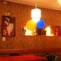 Photo taken at Ocho Sushi - Bar by Christi J. on 2/5/2013