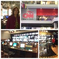 Photo taken at CNN Newsroom by Suzette V. on 3/13/2015