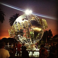 Photo taken at Universal Studios Hollywood Globe and Fountain by Chantel M. on 6/30/2013
