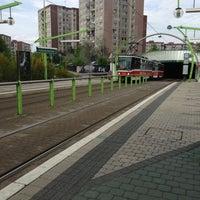 Photo taken at Poliklinika Barrandov (tram, bus) by Tina Tiko K. on 5/9/2013
