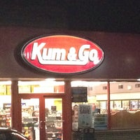 Photo taken at Kum & Go by Eric W. on 10/31/2013