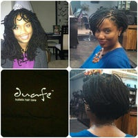 Photo taken at Duafe Holistic Hair Care by Syreeta S. on 3/25/2013
