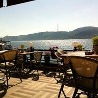 Photo taken at Göze Teras Cafe by Berna K. on 6/24/2013