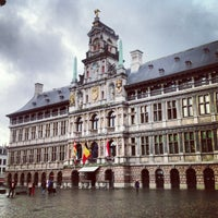 Photo taken at Antwerp City Hall by Stefan H. on 10/17/2013