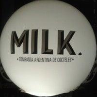 Photo taken at Milk Compañía Argentina de Cocteles by 777ck on 10/6/2012