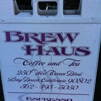Photo taken at Brew Haus Coffee & Tea by Jennifer H. on 11/21/2011