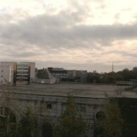 Photo taken at Liverpool Science Park IC 2 by Robin P. on 10/19/2012