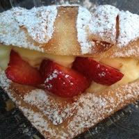 Photo taken at Cream Pan Bakery & Cafe by Jeff L. on 12/14/2013