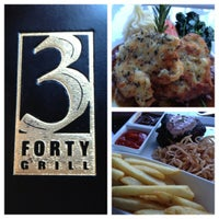 Photo taken at 3 Forty Grill by Alvin A. on 9/15/2012