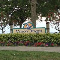 Photo taken at Vinoy Park by David W. on 4/22/2013